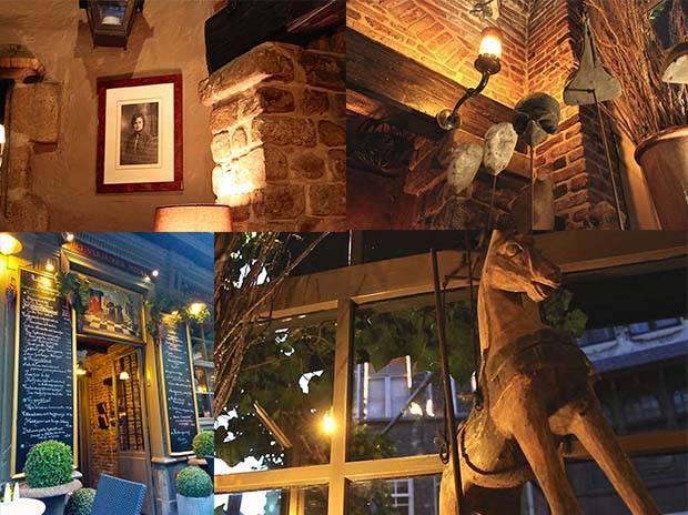 HET VERMOEIDE MODEL- Restaurant Anvers.
