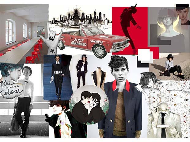 La Veste Tailleur – Red Version