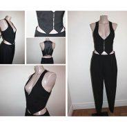 Ensemble Tailleur –  Gilet & Pantalon